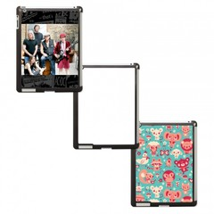 iPad 2/3 Case w/ Metal Insert (Black)