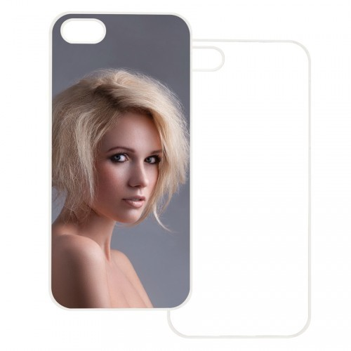 iPhone 4/4S Case w/ Metal Insert (White)